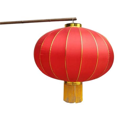 缎面国庆节灯笼